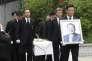 Funérailles de Koo Bon-moo, le 22 mai à Séoul.
