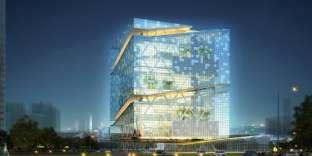 Tour des sports de Hangzhou, en Chine, dessinée par Arep. Sa livraison est prévue en 2020.