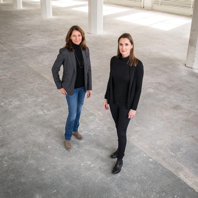 Les créatrices de WantedDesign, Odile Hainaut et Claire Pijoulat.
