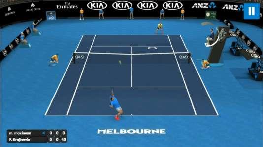 « AO International Tennis» met en avant l'Open d'Australie, Nadal, et un système de visée plus piégeux qu'il n'y paraît.