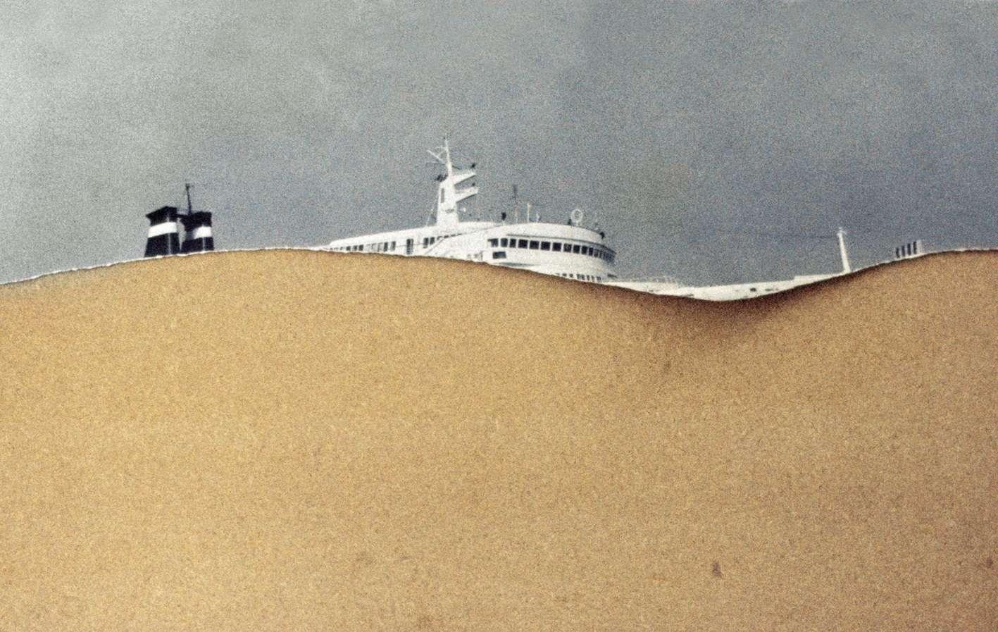 Bastia, Corse, 1976 (série Kodachrome).