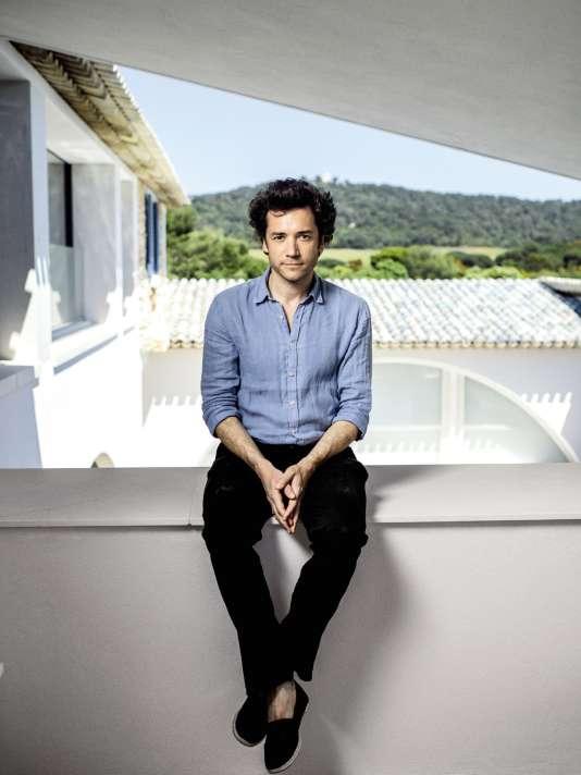 Charles Carmignac, à Porquerolles, en mai 2018.