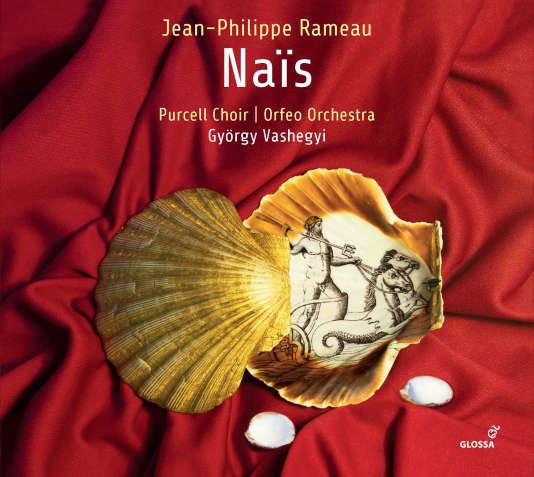 Pochette de l'album« Naïs», opéra de Jean-Philippe Rameau.