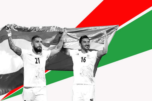 Ashkan Dejagah (à gauche) et Reza Ghoochannejad (droite)