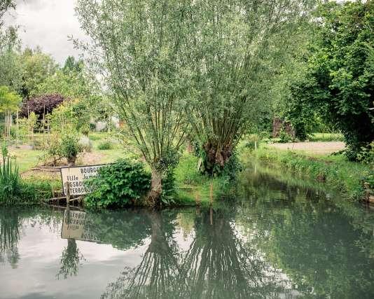 Les jardins des marais de Bourges.
