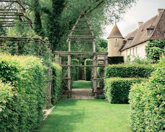 Les jardins d'Orsan, à Maisonnais (Cher).