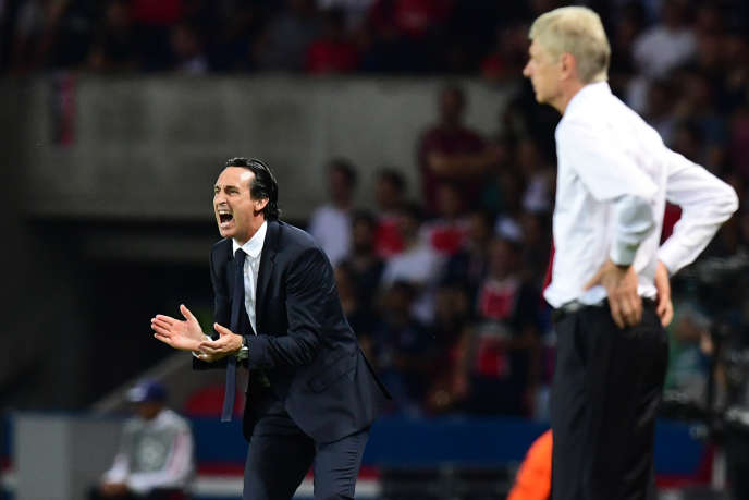 Unai Emery, ici le 13 septembre 2016, va succéder à Arsène Wenger à Arsenal.