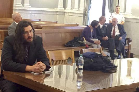 Michael Rotondo, à la Cour suprême de l'Etat de New York, le 22 mai 2018.