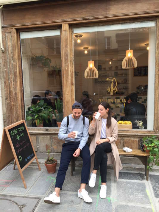 Yellow Tucan, «coffee shop» rue des Tournelles, Paris 4e.