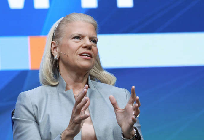 Virginia Rometty, PDG d'IBM, à Orlando (Floride), en octobre  2015.