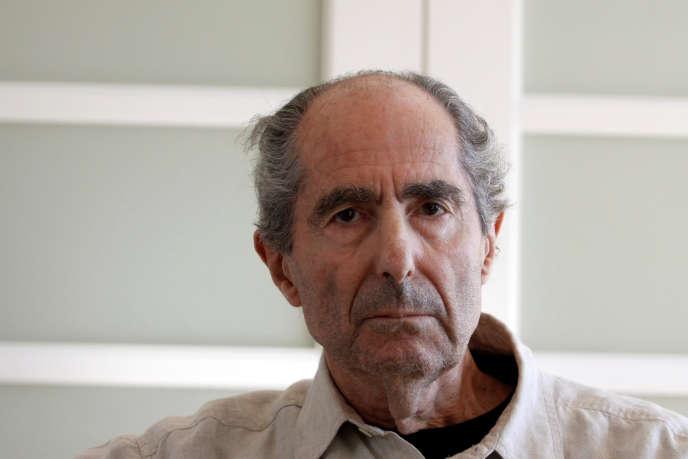Le romancier Philip Roth à New York,le 15 septembre 2010.