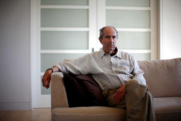 Philip Roth, à New York, en septembre 2010.