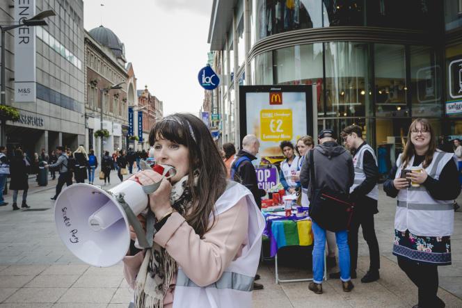 Campagne pour le oui au référendum, à Dublin.