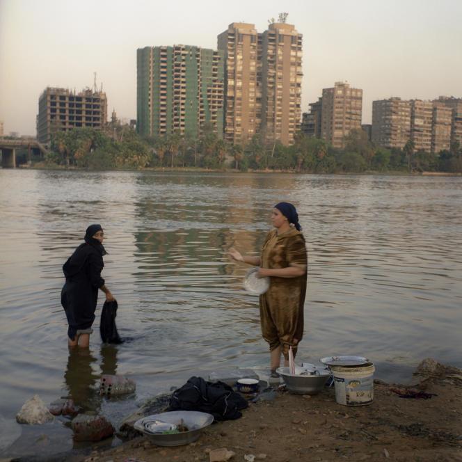 Au Caire, à Gueziret el Dahab, l'« île d'or ».