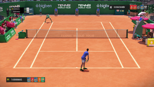 «Tennis World Tour» offre les meilleures sensations dans l'échange. A condition de passer outre son criant manque d'options, une réalisation chiche et ses bugs à foison…