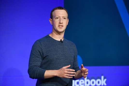 Mark Zuckerberg mercredi 23 mai à Paris.