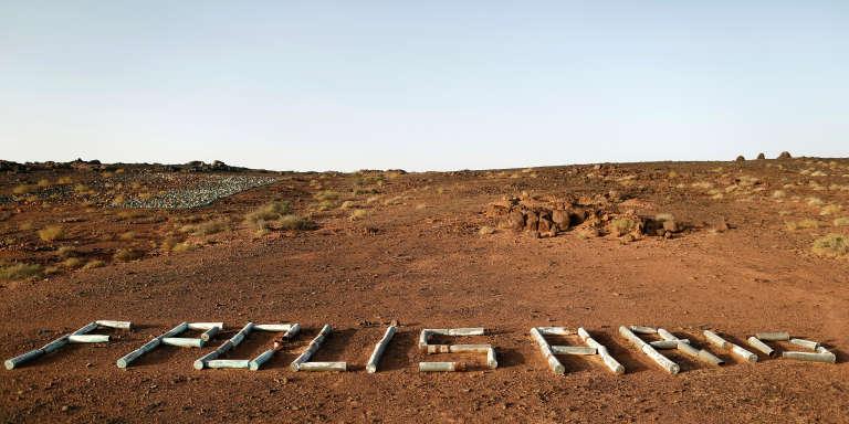 A Tifariti, au Sahara occidental, en septembre 2016.