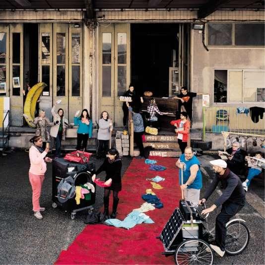 Le Tri postal à Avignon,lieu social et culturel.