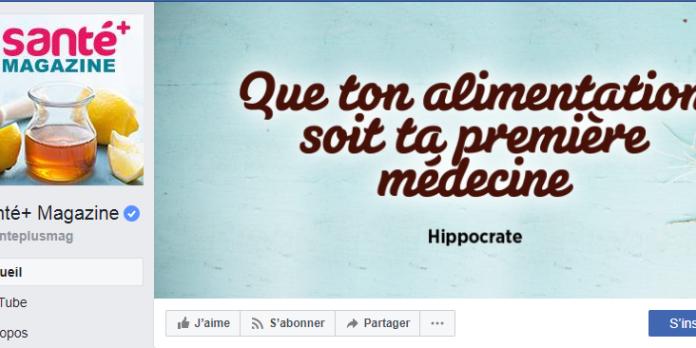 Santé+ Magazine, un site emblématique de la « mal