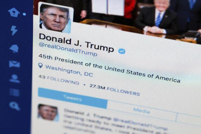 Le compte Twitter de Donald Trump compte désormais plus de 88 millions d'abonnés.