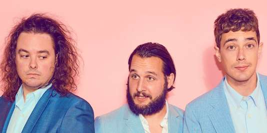Le trio indie pop canadien Born Ruffians.