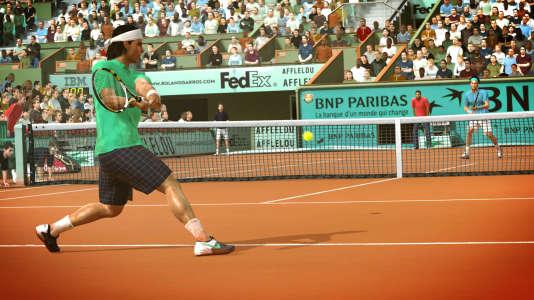 Les animations très réalistes de« Top Spin 4» ont été l'aboutissement de dix ans de développement. Pour le studio Breakpoint,« Tennis World Tour» n'est qu'un début.