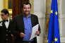 Matteo Salvini, le leader du parti d'extrême droite la Ligue, à Rome, le 24 mai.