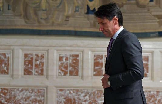Giuseppe Conte– ici le 24 mai à Rome–a été nommé, mercredi 23 mai, président du conseil italien.