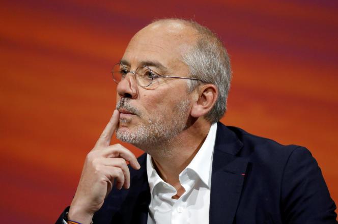 Stéphane Richard, PDG d'Orange, à Paris, le 24 mai.