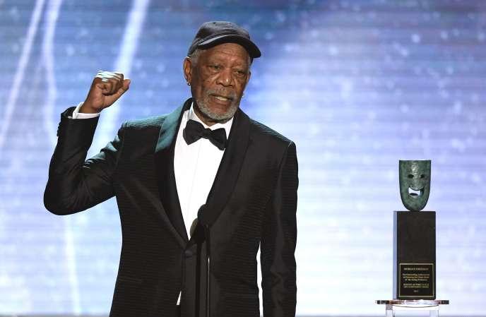 Morgan Freeman à Los Angeles en janvier.