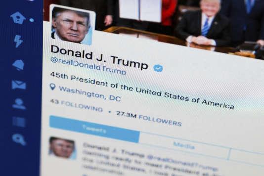 Le nombre de personnes bloquées par Donald Trump sur Twitter est inconnu.