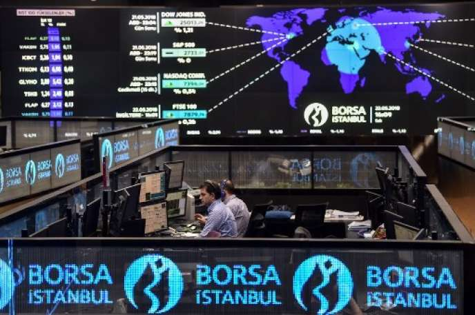 La Bourse d'Istanboul.