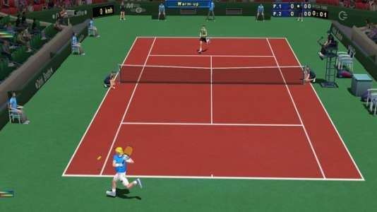 Développé presque seul par un habitant de la Drôme,« Tennis Elbow 2013» était devenu, en dépit de son faible budget, un refuge pour les amateurs de jeux de tennis réalistes.