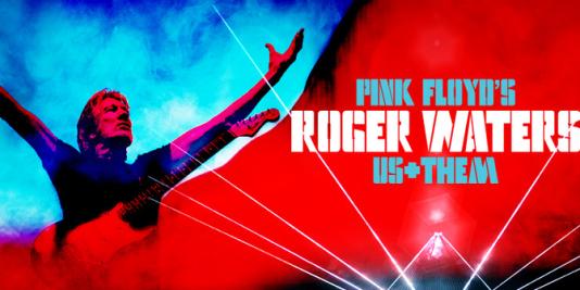 Affiche des concerts de la tournée Us + Them de Roger Waters.