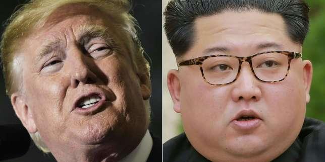 Donald Trump et Kim Jong-un.