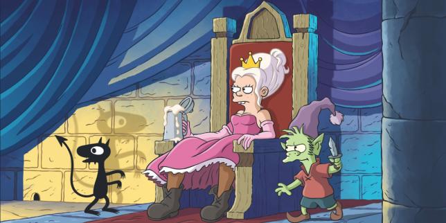 Un aperçu de « Disenchantment », la nouvelle série du créateur des Simpson, Matt Groening.