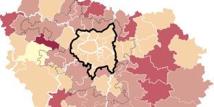 Sous-peuplement dans le logement social en Ile-de-France