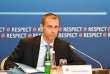 Le président de l'UEFA, Aleksander Ceferin, le 24 mai, à Kiev.