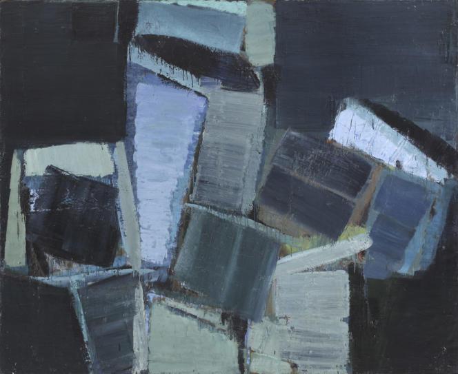 «Grande nature morte», d'Olivier Debré, 1956, huile sur toile, 192 x 235 cm, exposée à la galerie Louis Carré & Cie, qui participe au Paris Gallery Weekend.
