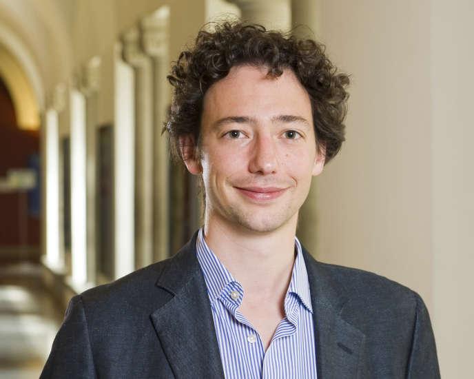 David Hémous,professeur assistant en économie de l'innovation et de l'entrepreneuriat à l'université de Zürich, est âgé de 34 ans.