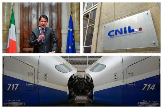 Un nouveau chef du gouvernement en Italie, le RGPD et la réforme de la SNCF dans l'actualité de la semaine.