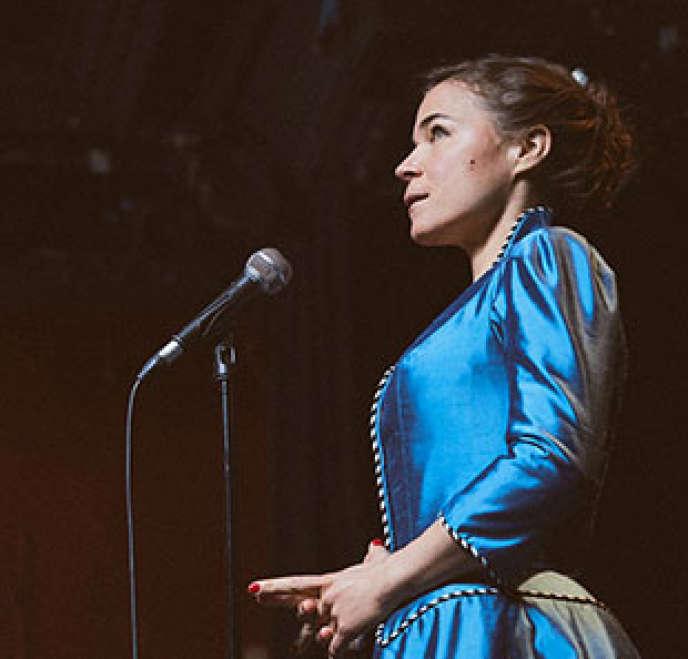 Visuel du nouveau spectacle de Blanche Gardin,« Bonne nuit Blanche».