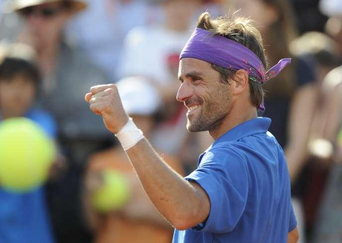 Arnaud Clément, en2012 à Roland-Garros.