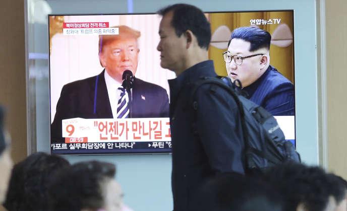 Donald Trump a surpris, vendredi 25 mai, en affichant son optimisme sur les discussions avec Pyongyang, évoquant le possible maintien du sommet du 12juin.