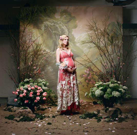 Kirsten Dunst, pour la collection automne-hiver 2018-2019 de Rodarte.