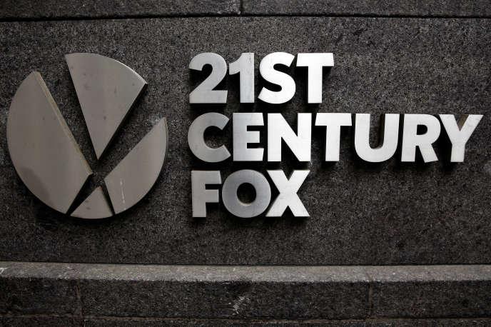 Au siège de la 21st Century Fox à New York, en avril 2016.
