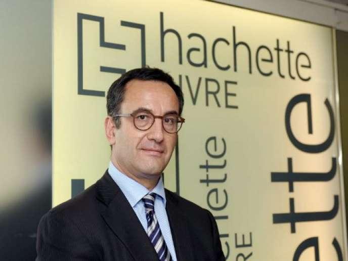 Arnaud Nourry, PDG d'Hachette Livre.
