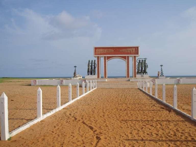 La porte du Non-Retour, à Ouidah, au Bénin.