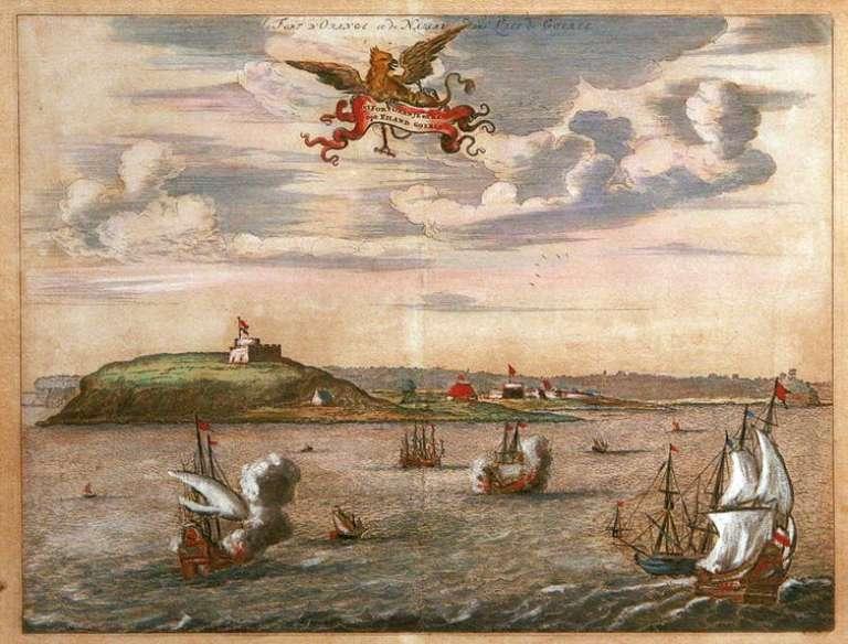L'île de Gorée au Sénégal, longtemps considérée comme une plaque tournante du commerce esclavagiste.