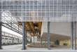 L'école des Beaux Arts de Nantes s'est implantée en 2017sur le site des anciennes Halles Alstom.
